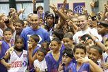 Бареа и Арройо открыли спортзал в Пуэрто-Рико