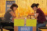 Шахматы. Результаты пятого тура женского чемпионата Украины
