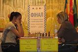 Шахматы. Результаты седьмого тура женского чемпионата Украины