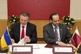 НОК Украины и Катара подписали меморандум о взаимопонимании