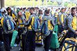 Юношеская олимпийская сборная Украины прибыла в Нидерланды