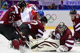Хоккей. Чехия уверенно побеждает латвийцев