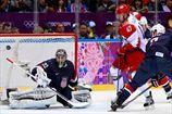 Хоккей. США по буллитам обыграли Россию