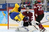 Хоккей. Швеция обыгрывает Латвию