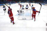 Хоккей. Женщины. Россия бьет Японию