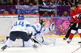Хоккей. Канада обыгрывает Финляндию в овертайме