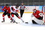Хоккей. Канада обыгрывает Швейцарию и идет в финал