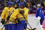 Хоккей. Швеция засушила Словению