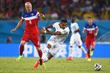 США добыли волевую победу над Ганой