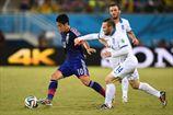 Япония и Греция вывели в плей-офф Колумбию