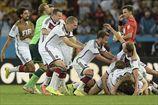 Гетце принес Германии Кубок мира