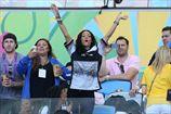 Рианна оголилась после триумфа сборной Германии
