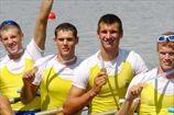 Академическая гребля. Украинская мужская четверка берет золото на чемпионате мира