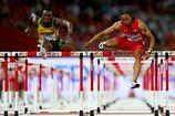 Легкая атлетика. ЧМ. Мерритт и Оливер в финале на 110 метров с барьерами