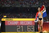 Легкая атлетика. ЧМ. Блестящие победы Шипперс, Шубенкова и Уильямс