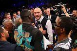 Фьюри ворвался на ринг и вызвал на бой Уайлдера. ВИДЕО