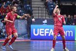 Футзал. Евро-2016. Сербия бьет Словению в матче открытии