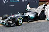 Формула-1. Росберг и Хэмилтон довольны новым болидом W07