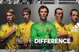ФФУ презентовала новую форму сборной на Евро-2016