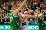 Кубок Европы FIBA. Химик уступает во втором матче с Шалоном и вылетел с турнира