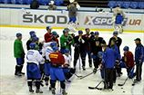 Сборная Украины начала подготовку к чемпионату мира