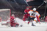 НХЛ. Сухая победа Детройта, разгромы от Коламбуса и Эдмонтона