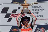 Moto GP. Гран-при Америк выигрывает Маркес