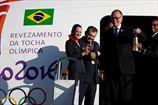 Олимпийский огонь прибыл в Бразилию. ВИДЕО