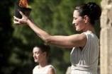Олимпийский огонь успешно зажжен